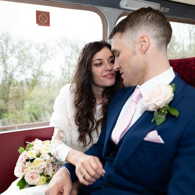 Wedding Photographer for Virginia and Simon in Lewes.