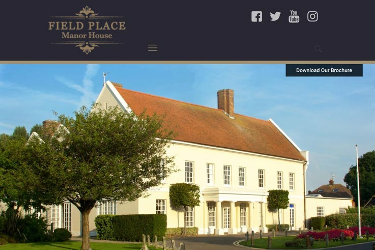 Field Place Manor House Wedding Venue link
