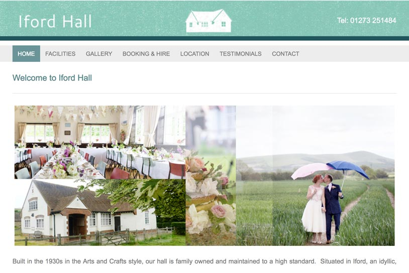 Ilford Hall Wedding Venue link