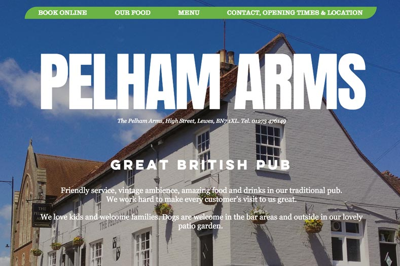 The Pelham Arms Wedding Venue link