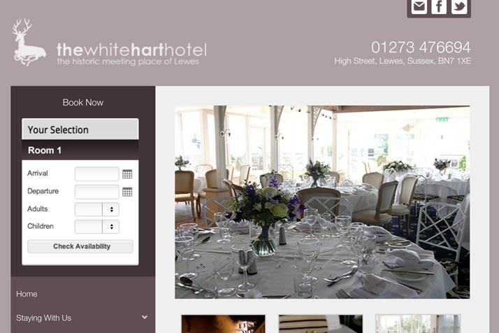 White Hart Hotel Wedding Venue link