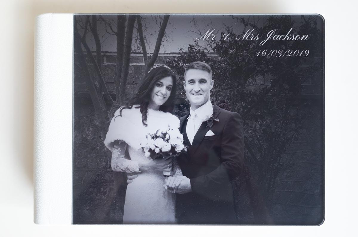 Wedding Photo Album for Virginia and Simon in Lewes.
